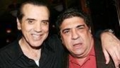 "From The Sopranos' Sal ""Big Pussy"" Bonpensiero to Broadway's Amos Hart, Chazz Palminteri with Chicago-bound star Vincent Pastore."