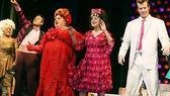 Dancing off, Wendt and his Hairspray co-stars (from left) Darlene Love, Jim J. Bullock, Tracy understudy Lori Eve Marinacci and Ashley Parker Angel.