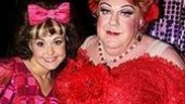 And George with his daughter for the day,perky Tracy understudy Lori Eve Marinacci.