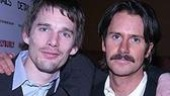 Ethan Hawke & Josh Hamilton at the opening of Hurlyburly