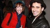 Photo Op - John Lloyd Young Leaves Jersey Boys -  John Lloyd Young (with young woman)