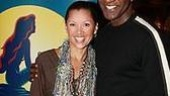 Photo Op - Vanessa Williams at The Little Mermaid - Vanessa Williams - Norm Lewis