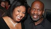 NaTasha Yvette Williams, Purple's adorable Sofia, with soon-to-be Harpo BeBe Winans.