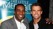Photo Op - Cameron Mathison at Little Mermaid - Norm Lewis - Cameron Mathison