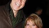 Tony-winning lyricist David Zippel (City of Angels)with British stage royalty Elaine Paige.