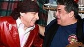 "Sylvio and ""Big Pussy"" reunited!Beyond Bada Bing!, Steven Van Zandtand Vincent Pastore."