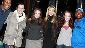 Christie Brinkley at The Little Mermaid - Norm Lewis - Sean Palmer - Alexa Ray Joel - Christie Brinkley - Sierra Boggess - Tituss Burgess