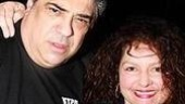Sopranos faves Vincent Pastore and Aida Turturro continue on Broadway in Chicago through January 13.