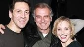 Producer John Breglio with his Zack and Cassie,Michael Berresse and Charlotte d'Amboise.