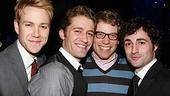 The Little Mermaid opening - Christopher J. Hanke - Matthew Morrison - Barrett Foa - Max von Essen