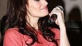 Idina Menzel at Virgin - Idina singing 1