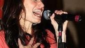 Idina Menzel at Virgin - Idina sings 3