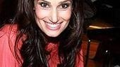 Idina Menzel at Virgin - Idina signing 2