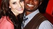 Idina Menzel at Virgin - Idina - Taye Diggs 