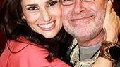 Idina Menzel at Virgin - Idina with dad