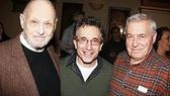 Strouse with cast member Chip Zien (soon to beseen in The Country Girl) and Lee Adams. Strouseand Adams have collaborated on morethan seven musicals together.
