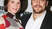 The show's Alexander Gemignani  withhis lovely wife Erin Ortman.