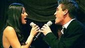 Lea Michele at Feinstein's - Lea Michele - Landon Beard (singing)