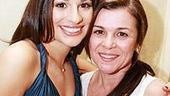 Lea Michele at Feinsteins - Lea Michele - mom Edith 