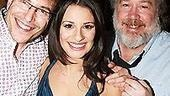Lea Michele at Feinsteins - Lea Michele - Thomas Hulce - Michael Mayer