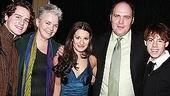 Lea Michele at Feinsteins - Lea Michele - Jonatha Groff - Susan Hilferty - Glenn Fleshler - Blake Bashoff