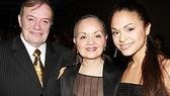 Broadway In the Heights Opening - Karen Olivo - parents