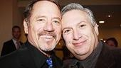The men of A Catered Affair: Tom Wopat and Harvey Fierstein.