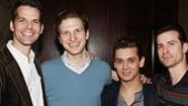 Jersey Boys Celebrate 1000 - J. Robert Spencer - Sebastian Arcelus - Michael Longoria - Dominic Nolif