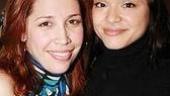 The show's lovely Andrea Burns and Karen Olivo.