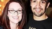 Celebs at In the Heights - Megan Mullally - Lin-Manuel Miranda