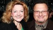 Alison Fraser, Gypsy's Tessie Tura, with Wayne Knight, famous for  playing Newman on Seinfeld.