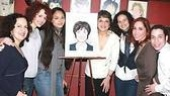Priscilla Lopez Caricature at Sardi's - Olga Merediz - Janet Decal - Karen Olivo - Mandy Gonzalez - Andrea Burns - Robin De Jesus - Priscilla Lopez