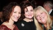 Falsettos reunion! Barbara Walsh with former co-stars Faith Prince and Heather MacRae.