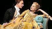 Ben Daniels and Laura Linney in Les Liaisons Dangereuses