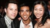 Top Girls understudy Angela Lin gets some support from A Chorus Line's Jason Tam and Aaron Albano.