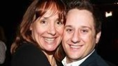 November nominee Laurie Metcalf and Young Frankenstein's Christopher Fitzgerald appeared together onstage in The Beauty Queen of Leenane in Chicago.