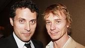 The British invasion: Fellow nominees (and dashing Brits) Rufus Sewell and Ben Daniels.