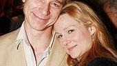 Les Liasons Dangereuses co-stars Ben Daniels and Laura Linney look so sweet here you'd never guess how nasty and conniving they are onstage.