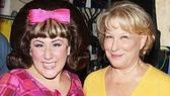 Hairspray's newest Tracy Turnblad, Marissa Perry, looks thrilled to be posing next to the Divine Miss M.