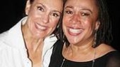 November's Laurie Metcalf poses with fellow 2008 Tony nominee, S. Epatha Merkerson, who starred in Come Back, Little Sheba earlier this season.