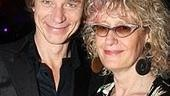 Ben Daniels with his agent Pippa Markham.
