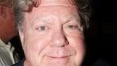 Hairspray's George Wendt, free of his Edna Turnblad drag, makes the rounds at Broadway Bares.