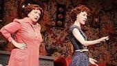 Gal pals Kathy Fitzgerald and Veanne Cox (as Doris and Sister) share a little girl talk.