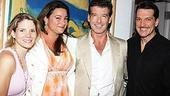 Brosnan at South Pacific - Kelli O'Hara - Paulo Szot - Pierce Brosnan - Keely Shaye Smith