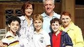 Billy Elliot cast meet and greet - David Alvarez - Haydn Gwynne - Kiril Kulish - Gregory Jbara - Trent Kowalik - Carole Shelley