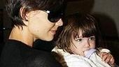Katie Holmes and daughter Suri Cruise leave Ariel and The Little Mermaid's world behind.