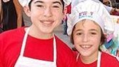 Andy Richardson from Gypsy and The Little Mermaid's Trevor Braun are ready to sell some serious baked goods.