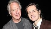 ...and Tony Award nominee (and Emmy winner) Alan Rickman.
