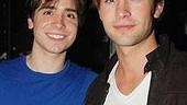 Gossip guy Chace Crawford hangs out with Spring Awakening's Matt Doyle, who is set to make an appearance on the hot TV show.