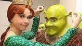 Shrek Opens in Seattle - Sutton Foster - Brian d'Arcy James (ears)